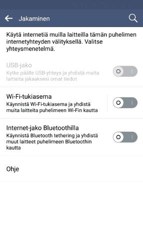 Wi-Fi-tukiasema LG