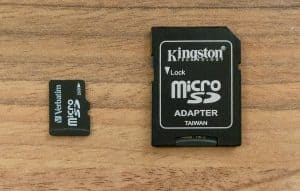 microSD ja SD-muistikortit