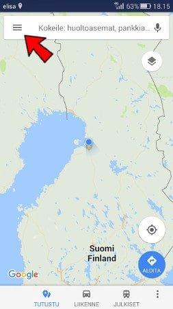 Google Maps Navigointi Ilman Nettiyhteytta Kayttoohje Fi