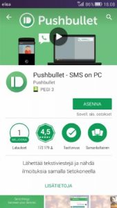 Pushbullet Google Play