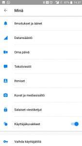 Facebook Messenger soittoäänen vaihtaminen
