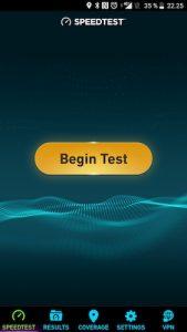Puhelinliittymän netin nopeuden testaaminen