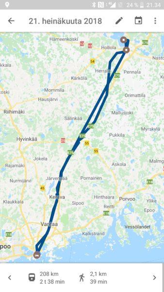 Nain Tarkistat Google Mapsin Tallentaman Sijaintihistoriasi