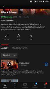 Netflix lataus valmis
