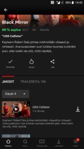 Netflix sarjojen lataaminen