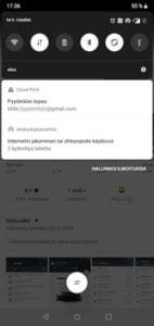 Android ilmoitus