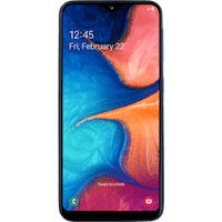 Samsung Galaxy A20e käyttöohje suomeksi