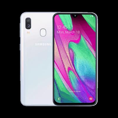 Samsung Galaxy A40 käyttöohje suomeksi
