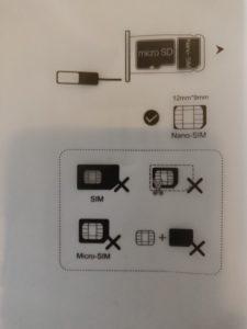 Sim-kortin asettaminen Huawei Mediapadiin