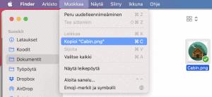 Leikkaa Macbook