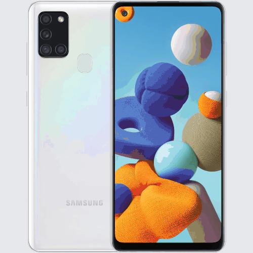 Samsung Galaxy A21s käyttöohje suomeksi